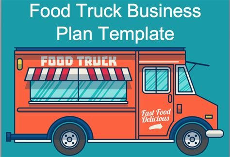 Best Business Plan Outline For Food Truck Stand