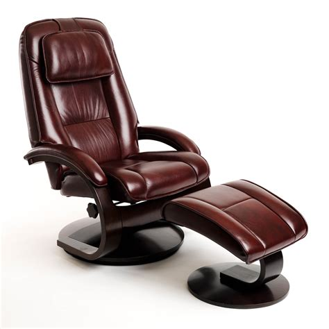 Best Choice Swivel Recliner Chair Ottoman Brown