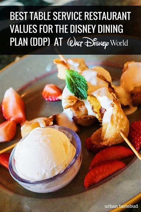 Best Disney Table Service Dining Plan
