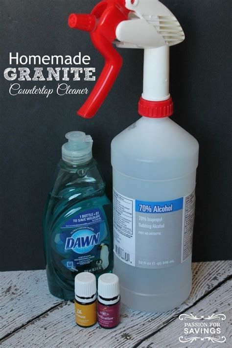Best Diy Cleaner For Granite Countertops