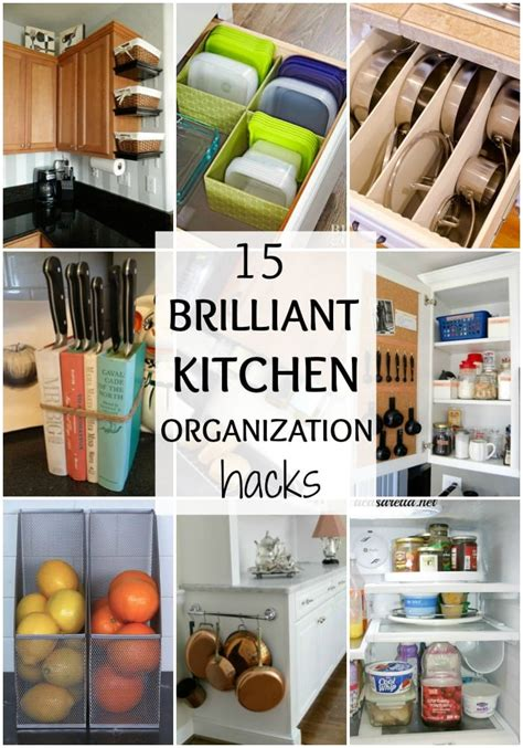 Best Diy Kitchen Organization Hacks