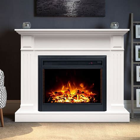 Best Electric Fireplace And Mantel