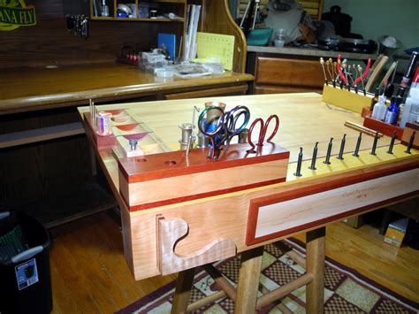 Best Fly Tying Bench Plans