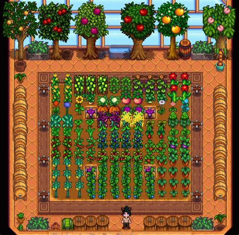Best Greenhouse Plants Stardew