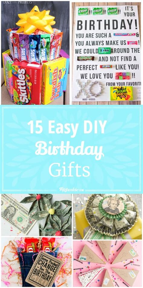Best Wood DIY Birthday Gifts