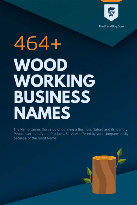 Best Woodworking Company Names