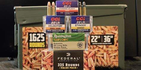 Best Plinking Target 22lr Ammo And Best Rated 22 Long Rifle Ammo