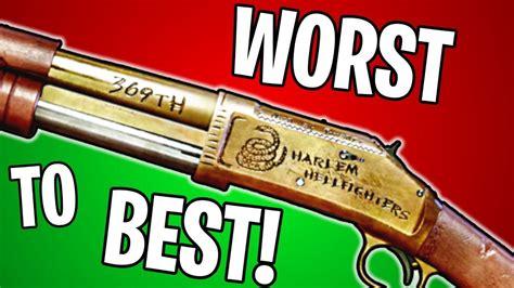 Best Shotgun In Battlefield 1 And Best Shotgun In Mw3 After Patch