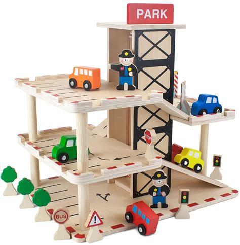 Best-Wooden-Toy-Garage