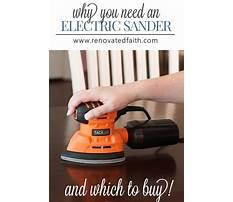Best Best sander for diy furniture.aspx