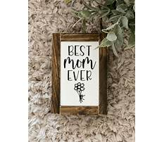 Best Best wood projects for mom