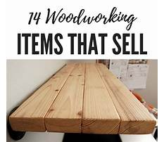 Best Best woodworking projects that sell