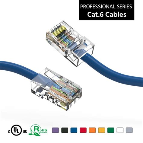Bestlink 200Ft Cat6 UTP Ethernet Network Booted Cable Green