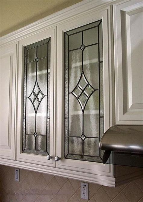 Beveled glass for cabinet doors Image