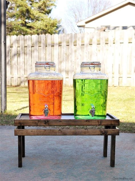 Beverage Dispenser Stand Diy Network