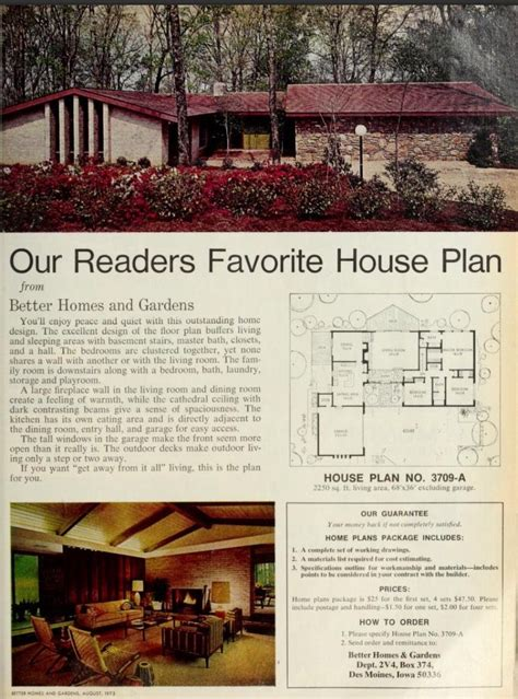 Bhg House Plans Of 1960s Batman