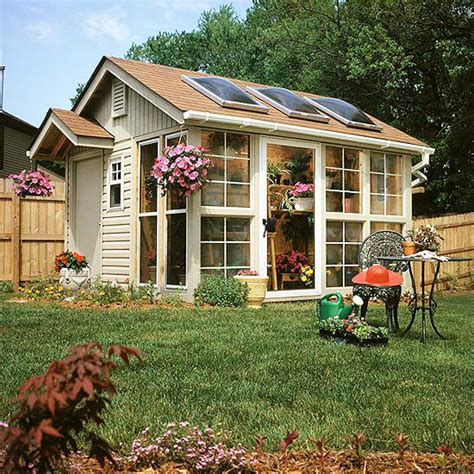 Bhg Small Garden Shed Plans
