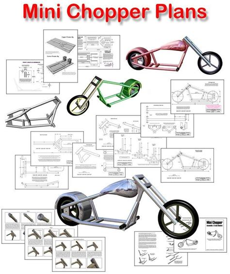 Bicycle Chopper Frame Plans