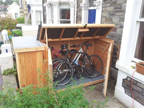 Bicycle-Storage-Shed-Plans