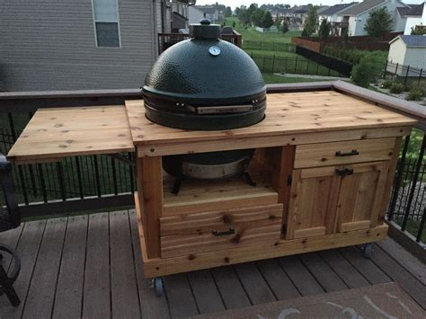 Big Green Egg Plans For Table