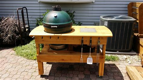 Big Green Egg Table Plans 2x4