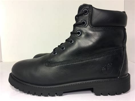 Big Kids 6 Inch Premium Waterproof Boots Black 12907