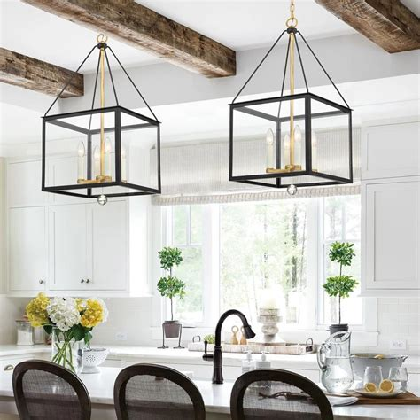 Big-Cage-Lighting-For-Farmhouse-Table