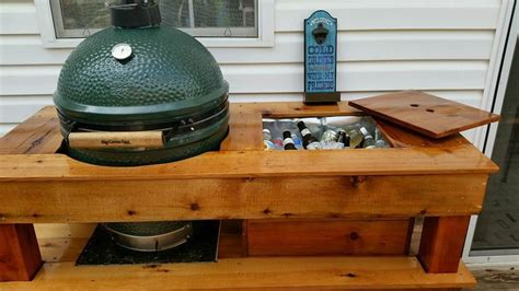 Big-Green-Egg-Table-With-Cooler-Plans