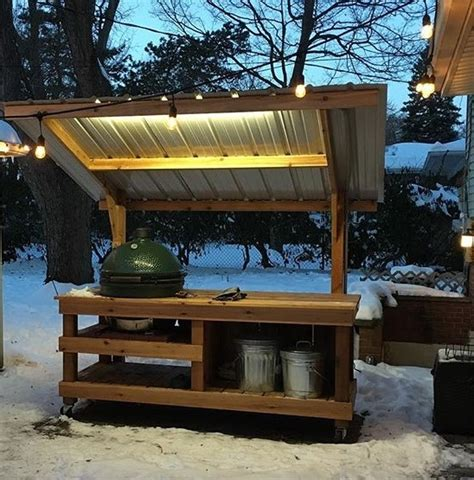 Big-Green-Egg-Table-With-Roof-Plans