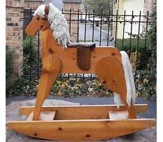 Best Big wooden rocking horse