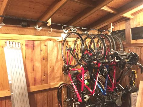Bike Garage Storage Diy Sliding