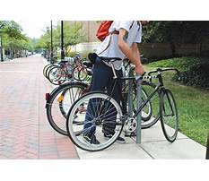 Best Bike rack art design competition