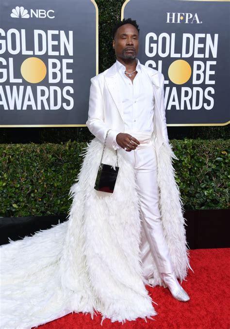 Billy Porter Golden Globes Dress