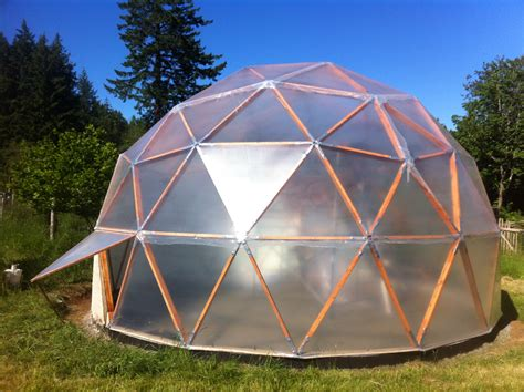Biodome Greenhouse Plans