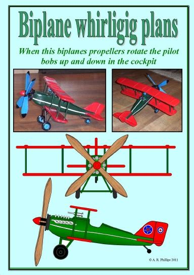 Biplane-Whirligig-Plans