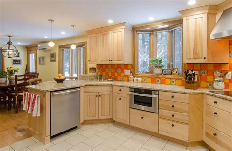 Birch Cabinets Countertops