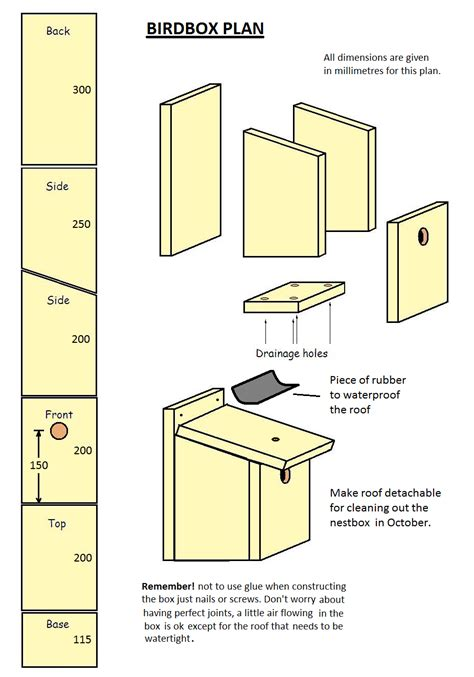 Bird Box Plans Pdf Uk