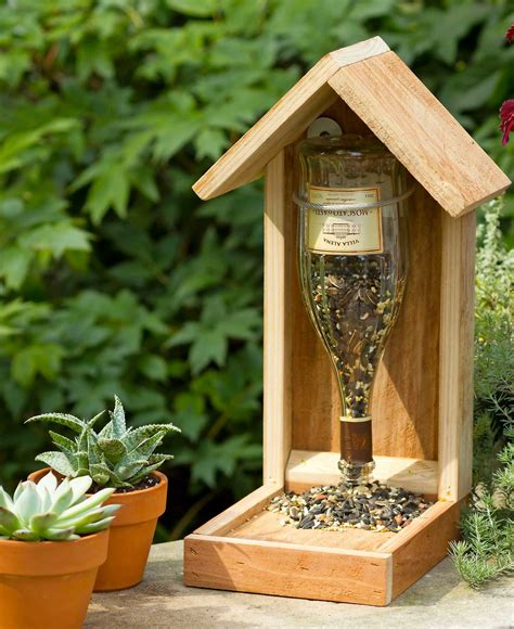 Bird Feeder Designs Diy Wine
