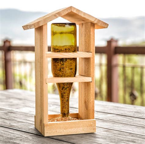 Bird Feeder Wood Diy Easy