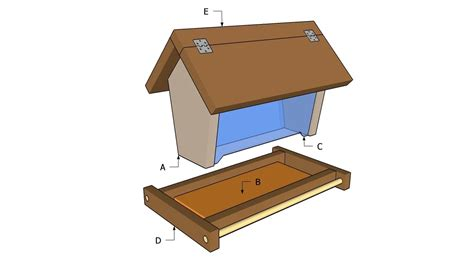 Bird Feeder Wood Plans Free
