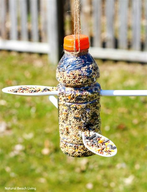 Bird Feeders Out Of Plastic Bottles