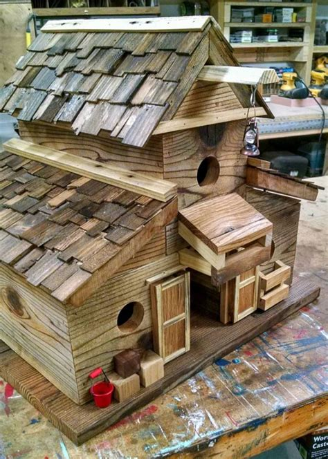 Bird House Plans From Pallets