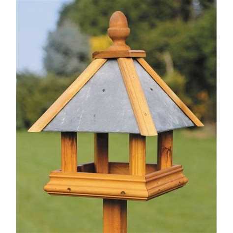 Bird Table Plans With Roof