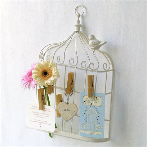 Birdcage Table Plan Cards