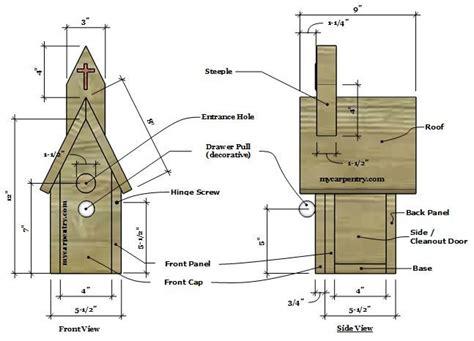 Birdhouse-Construction-Plans