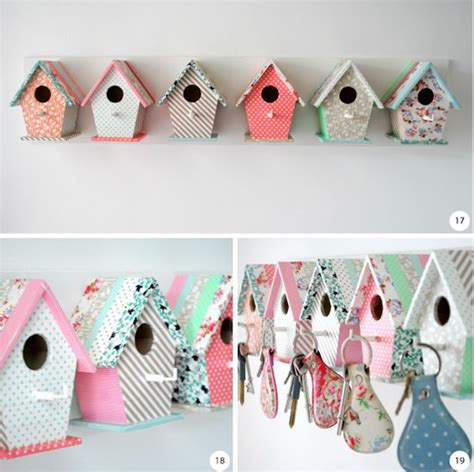 Birdhouse-Key-Holder-Diy