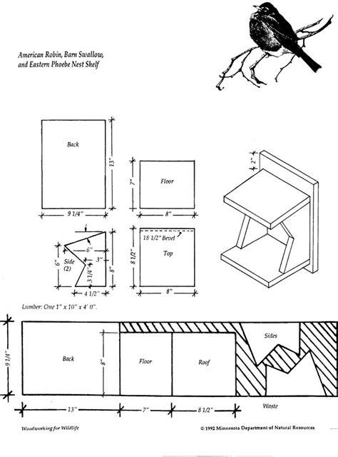 Birdhouse-Plans-Robin