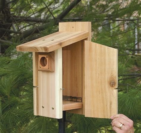 Birdhouse-Plans-With-Cleanout