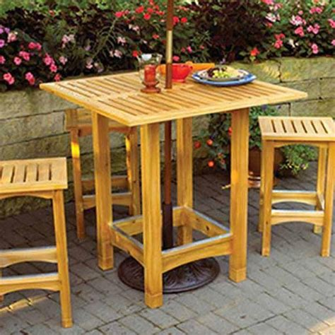 Bistro-Table-Woodworking-Plans
