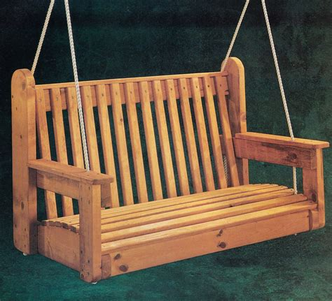 Black And Decker Free Porch Swing Plans